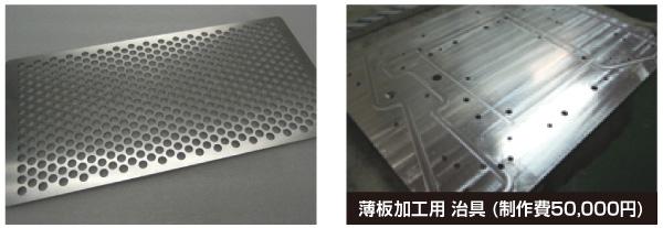 薄板材料の規格サイズ活用による機械加工コストダウン・高精度化のポイント Before