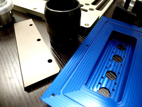 部品加工だけでも対応、表面処理までご提案!