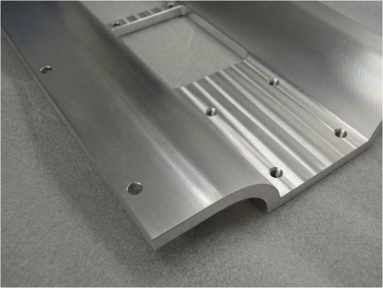 曲面加工品(アルミニウムA5052)